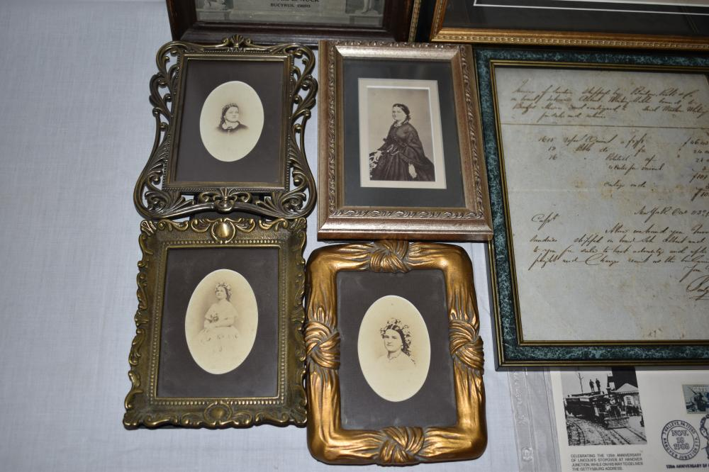 Abraham Lincoln and Family Related Items
