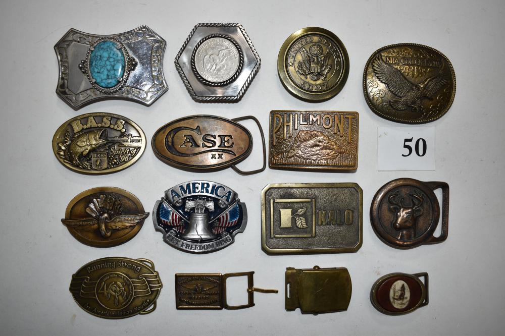 (15) Belt Buckles