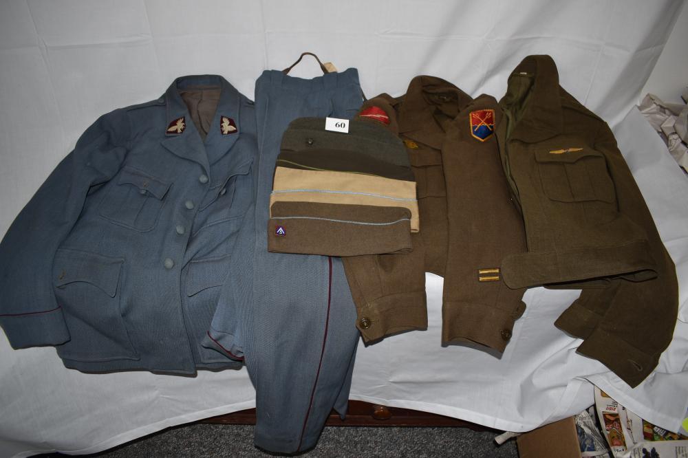 (3) Vintage Military Uniforms