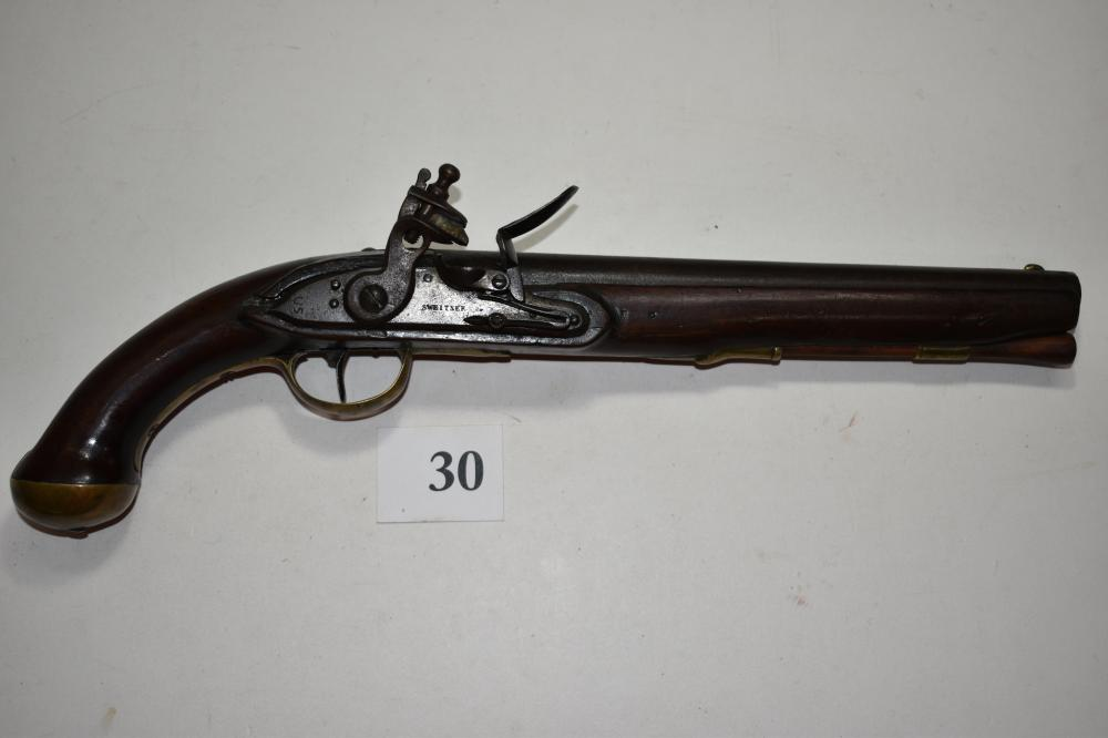 U.S. Model 1808 Sweitzer Flintlock .55 cal. Pistol