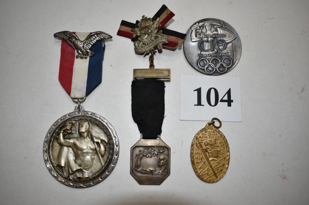 (4) Misc. German Medals