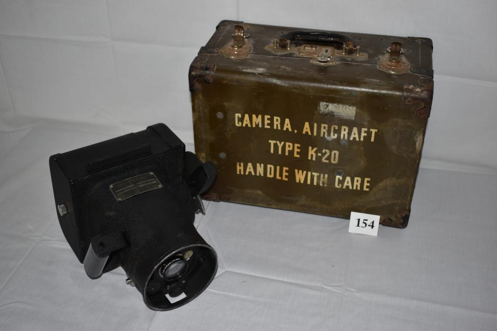 WWII U.S. Army/Air Force K-20 Aircraft Camera