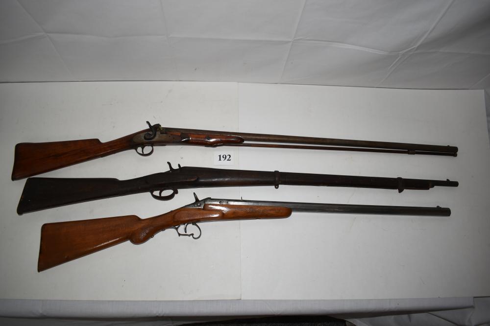 (3) Antique Long Rifles