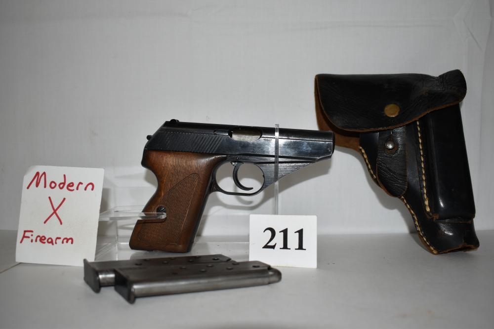 (X) Mauser Model HSc, 7.65mm Pistol