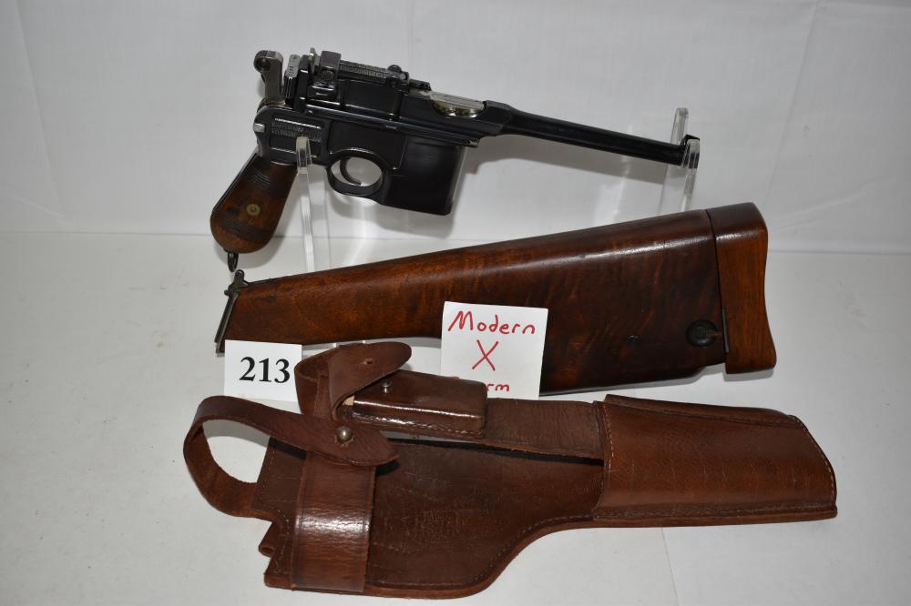 (X) Mauser C96 Broomhandle 7.63mm Pistol