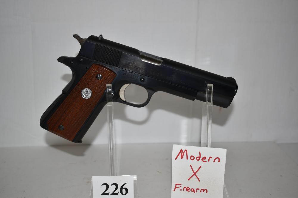 (X) Colt MK IV Series 70, .45 acp.