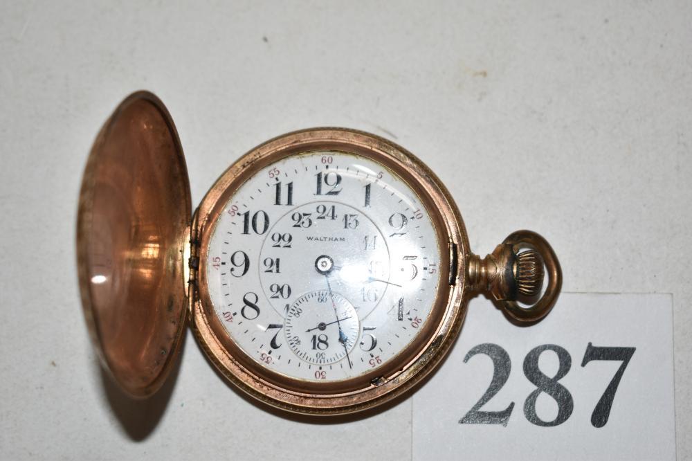 Waltham Hunter Case, Large Pocket watch