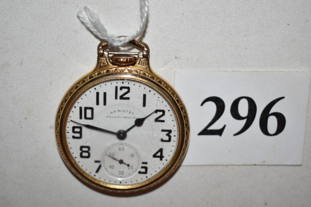 Hamilton 992B Pocket Watch