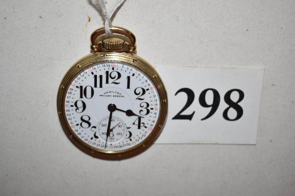 Hamilton Railway Special 992B, Pocket Watch