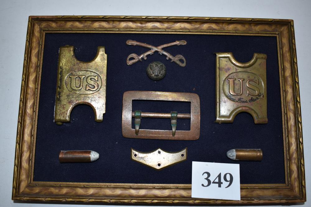 Dug Civil War Relics
