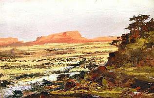 Peter Daniel VAN BLOMMESTEIN (20thC) OIL ON BOARD
