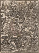 Urs Graf, Circle - The Agony in the Garden - 1574
