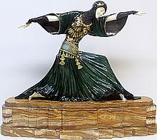 Bronze & Ivory Sculpture - D.H. Chiparus