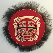"Patrick Amos, Nuu-chah-nulth, 15"" Moon Mask"