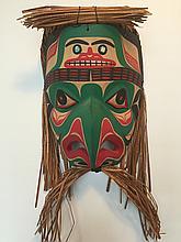 "Patrick Amos, Nuu-chah-nulth, 12"" Frog Mask"