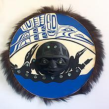 "Patrick Amos, Nuu-chah-nulth 24"" Moon Mask"
