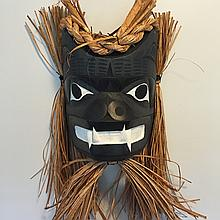"Patrick Amos, Nuu-chah-nulth- 9"" Bear Mask"