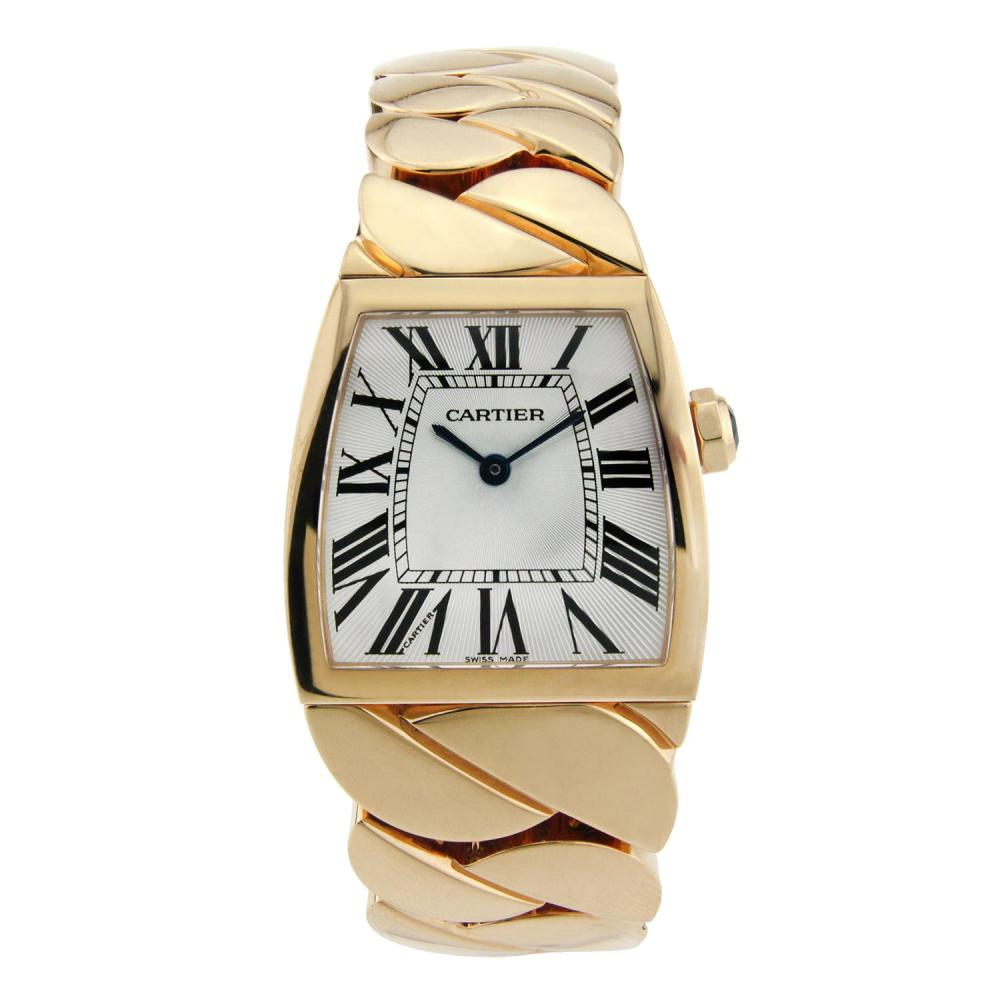 CARTIER DONA 18K ROSE GOLD WITH SILVER DIAL 28MM