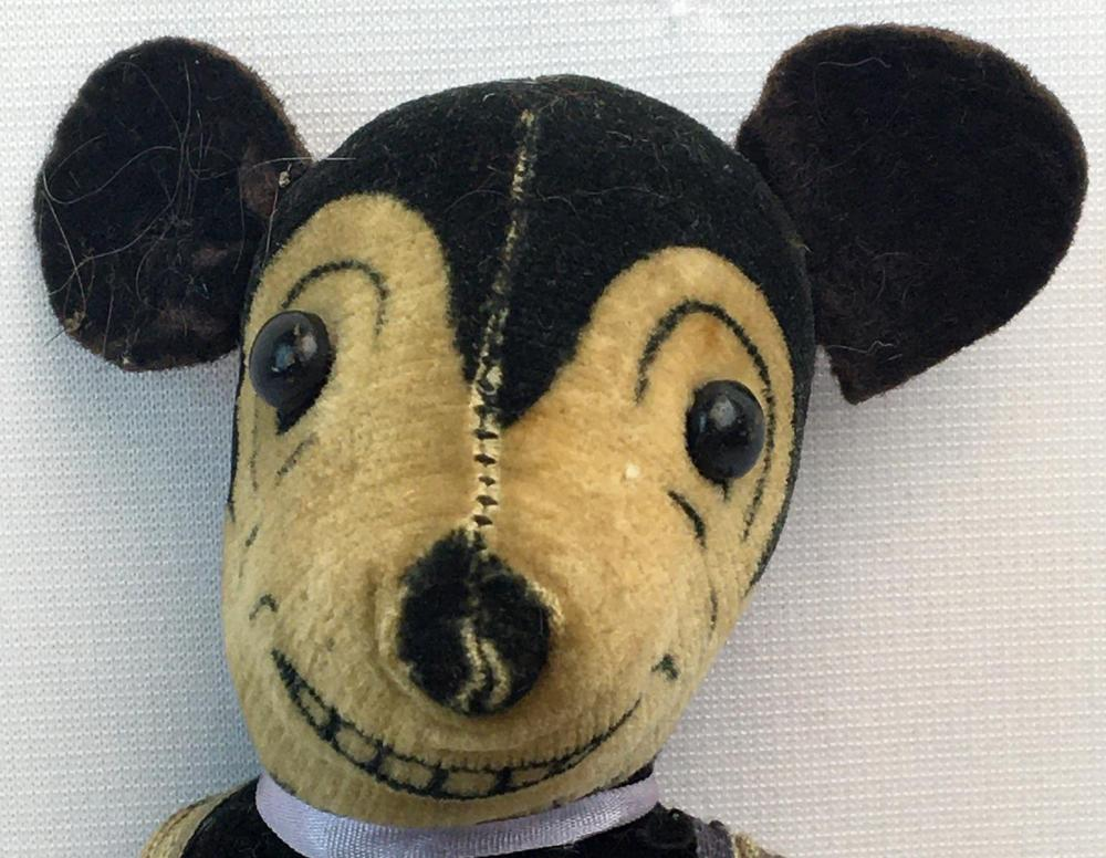 RARE Vintage 1930's Mickey Mouse Doll by Dean's Rag Book Co. 8