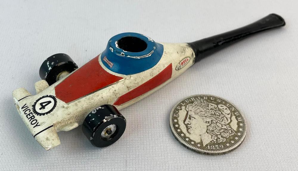 RARE Vintage Firestone Viceroy Race Car Tobacco Pipe