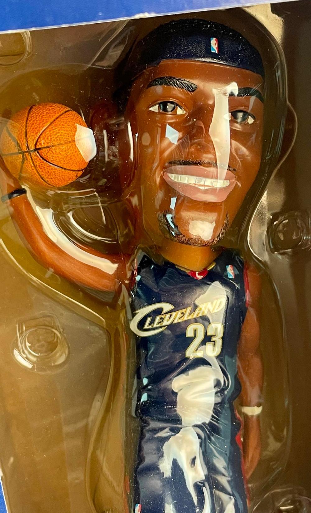 2005 LeBron James Cleveland Cavaliers SGA Stadium Giveaway Ltd Ed Bobblehead NIB