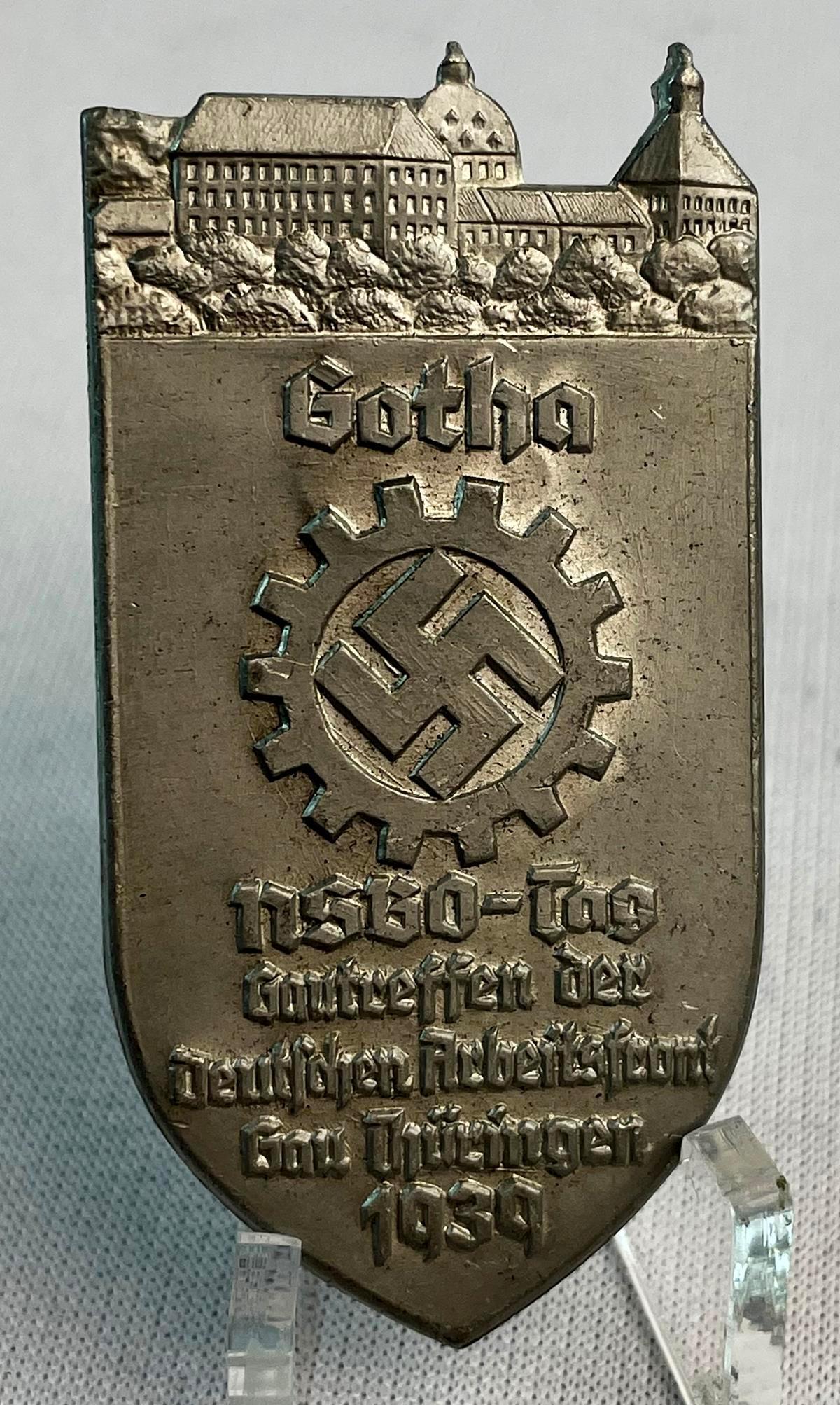 Vintage 1939 WWII German Gotha NSBO G. Danner M9/32 Badge
