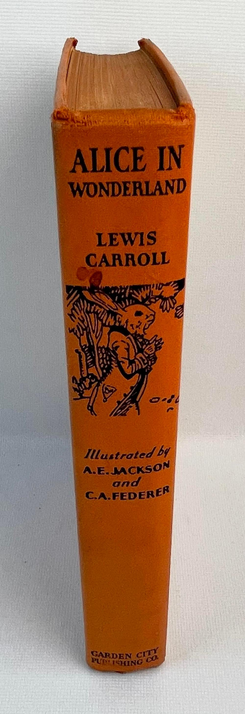 Alice in Wonderland by Lewis Carroll c. 1930 ILLUSTRATED