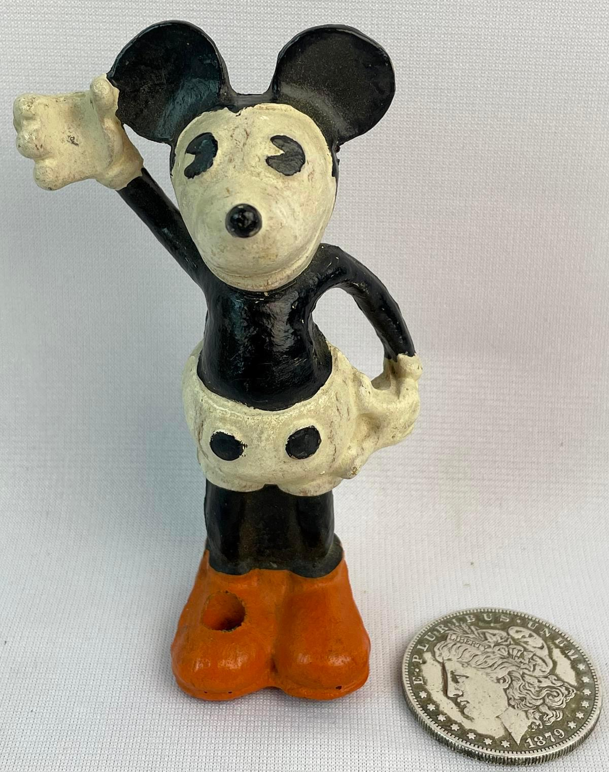 Vintage 1930's Dixon Mickey Mouse Pencil Holder