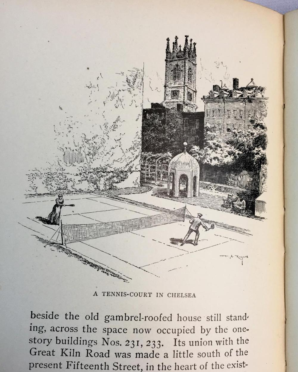 1894 In Old New York by Thomas A. Janvier Illustrated FIRST EDITION