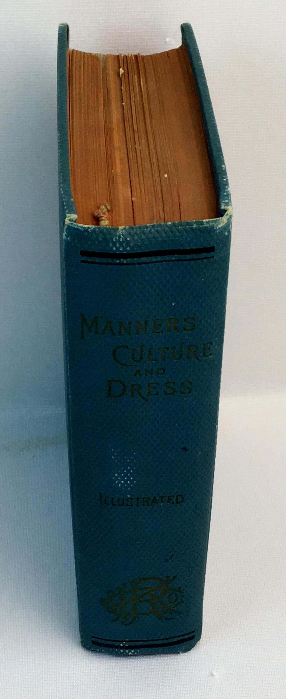 1891 Manners, Culture & Dress of The Best American Society by Richard A. Wells Illustrated FIRST EDITION