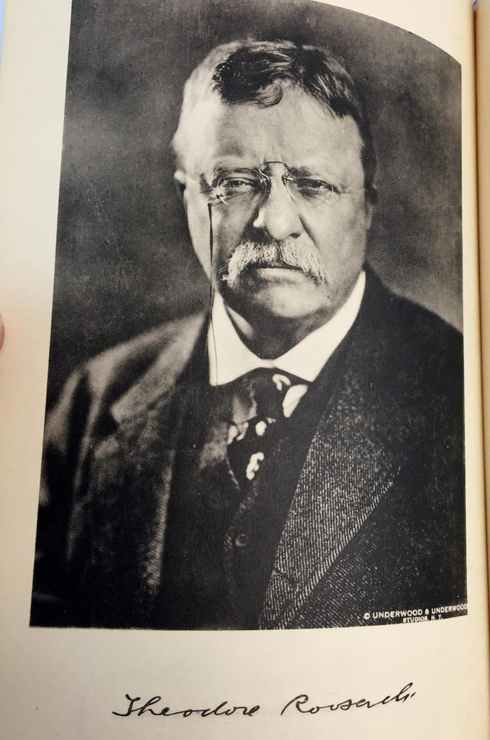 1919 The State of New York In Memoriam Theodore Roosevelt FIRST EDITION
