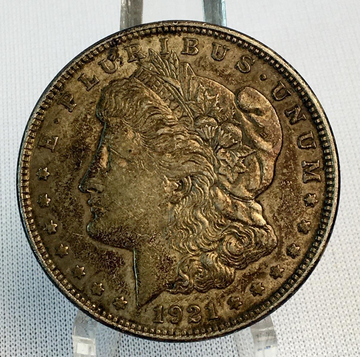 1921 US $1 Morgan Silver Dollar