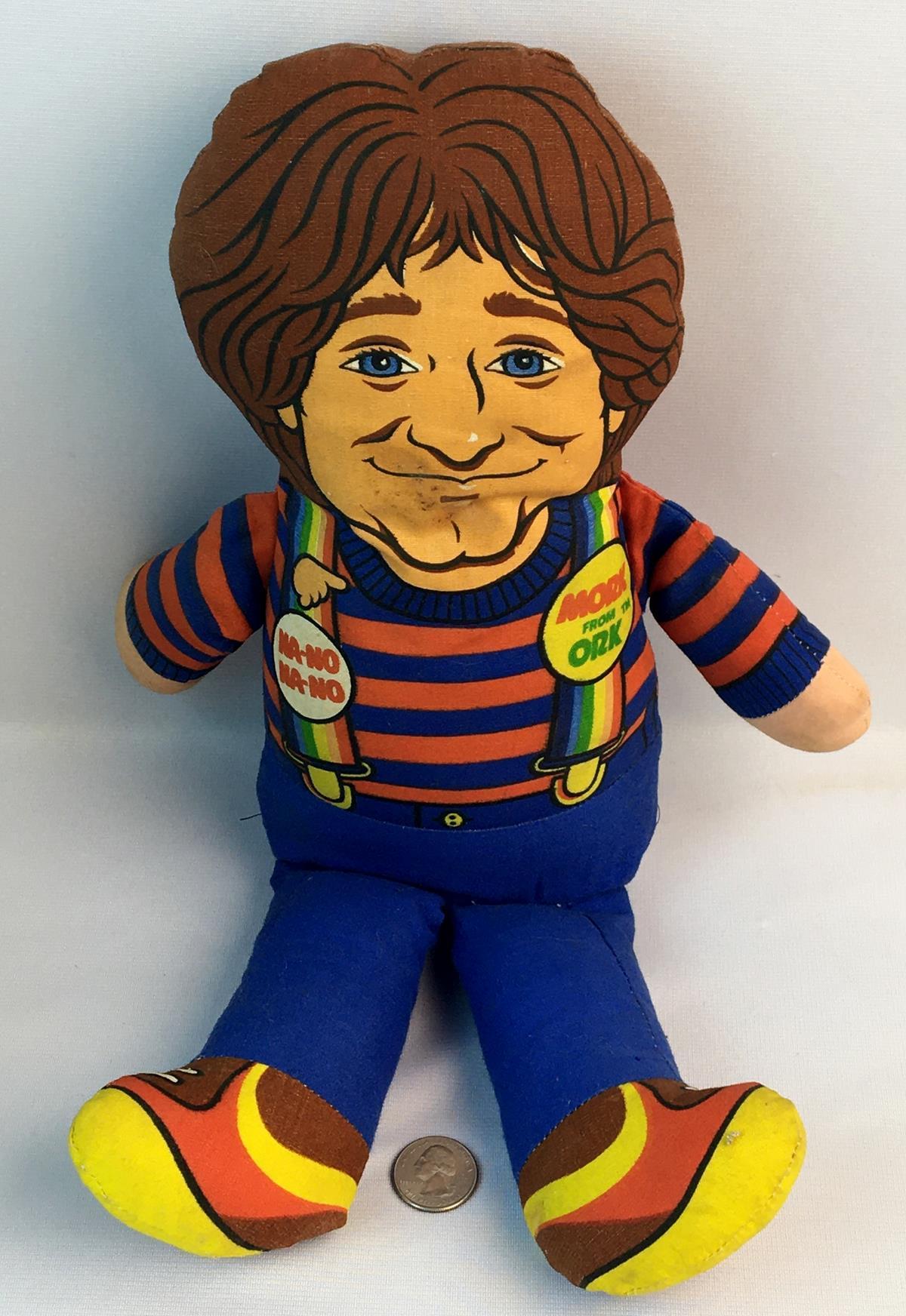 "Vintage 1979 Mattel Mork & Mindy ""Mork From Ork"" Robin Williams Plush Doll"
