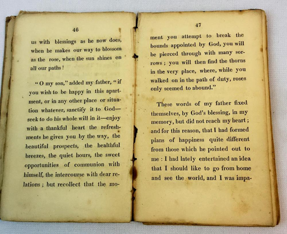 1820 The Hedge of Thorns by Mrs. Sherwood FIRST AMERICAN EDITION