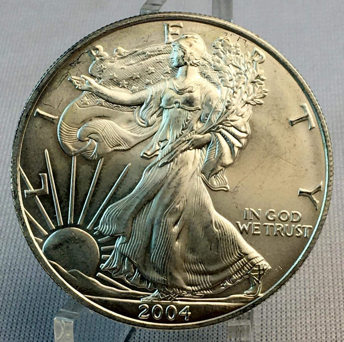 2004 American $1 Silver Eagle UNCIRCULATED