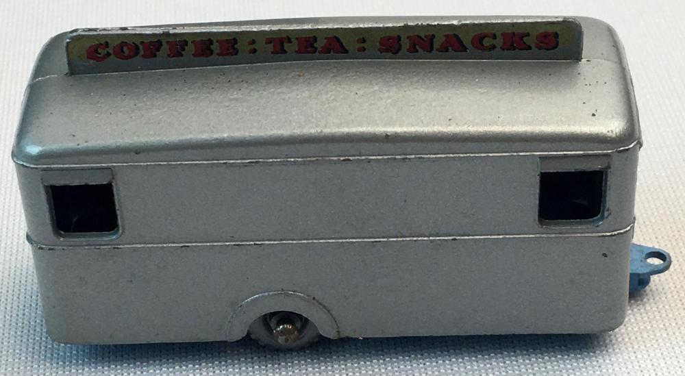 Vintage 1960 Lesney Matchbox No. 74 Mobile Canteen w/ Gray Wheels