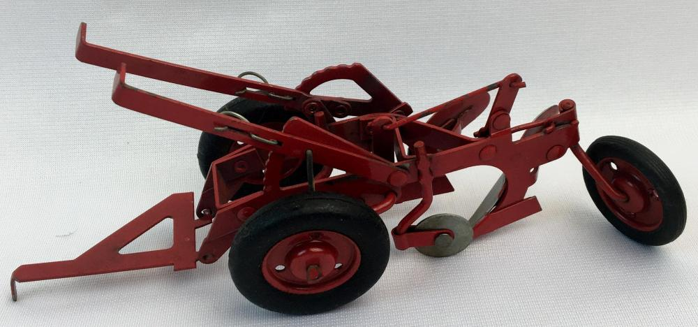 Vintage 1950's Tru Scale McCormick International Harvester IH Two Bottom Moldboard Plow