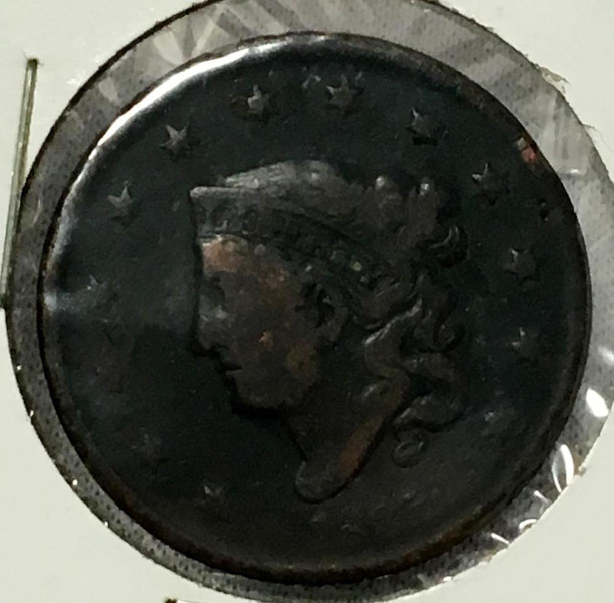 1835 Coronet Liberty Head Large Cents All Varieties Matron