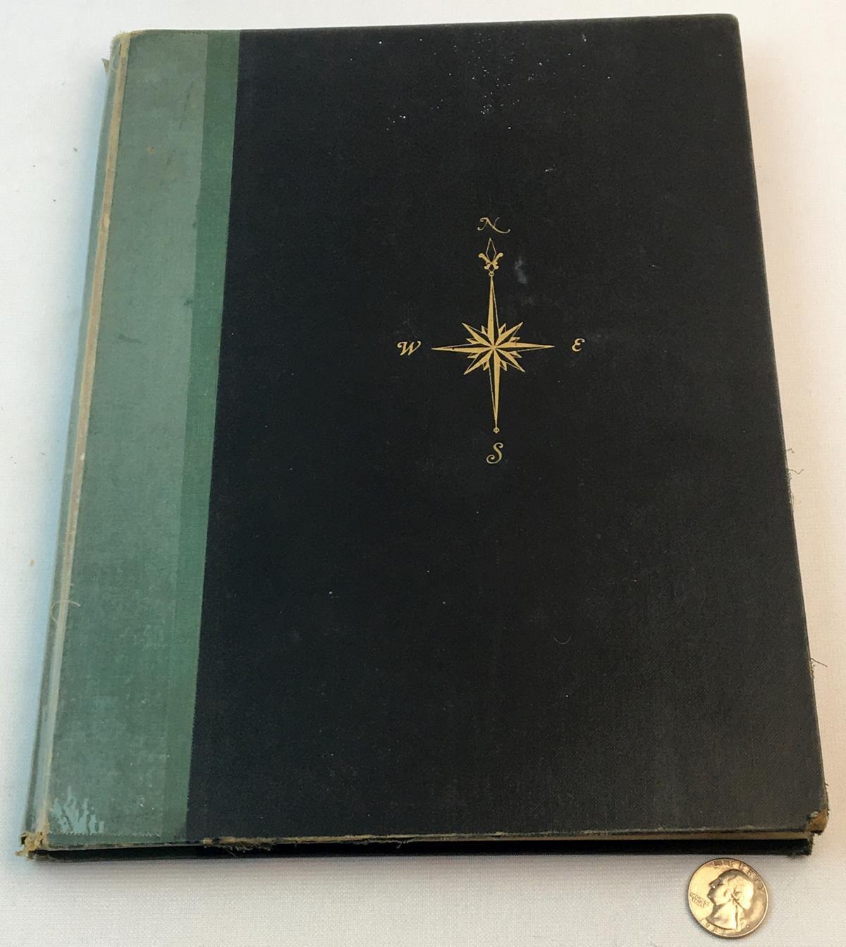 1955 Hammond's New Supreme World Atlas FIRST EDITION