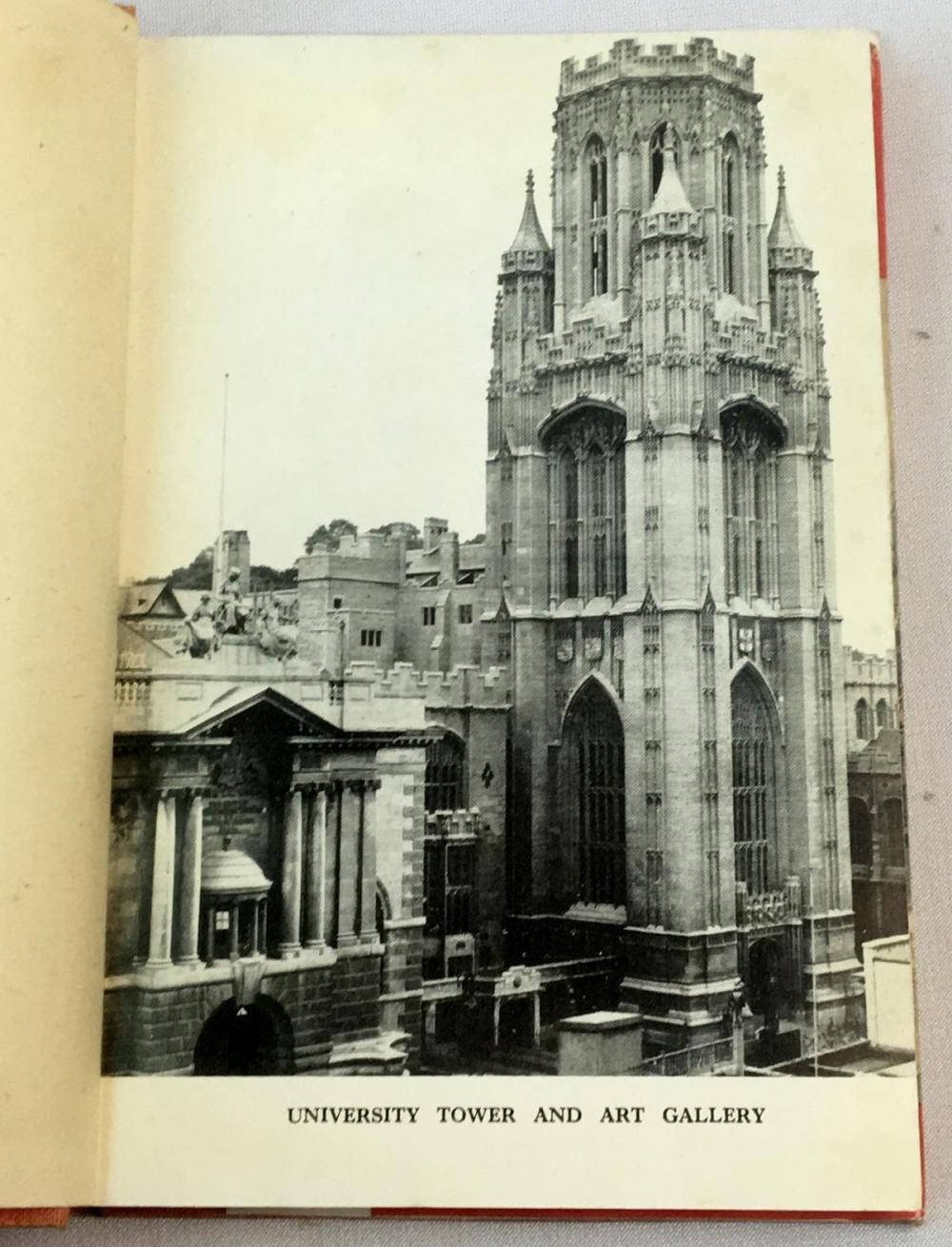 1946 Bristol England by Harold G. Brown w/ Dust Jacket FIRST EDITION Ruth E. Gutfrucht Artist Copy