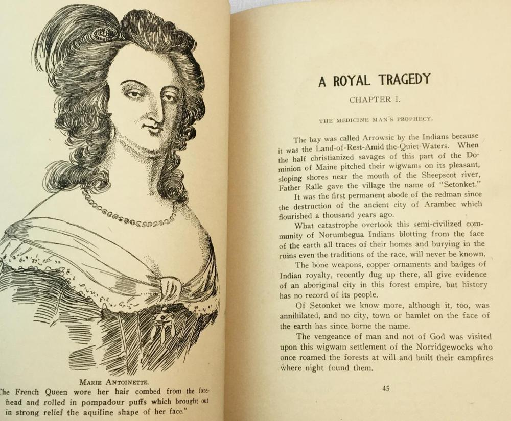1910 A Royal Tragedy When Kings and Savages Ruled by Nat Wilder, Jr. FIRST EDITION