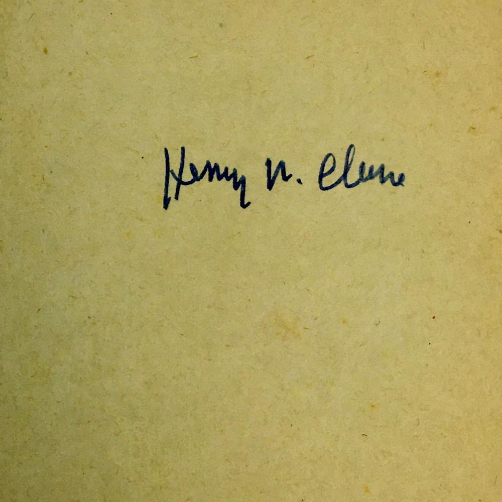 1956 The Big Fella by Henry W. Clune w/ Dust Jacket SIGNED FIRST EDITION