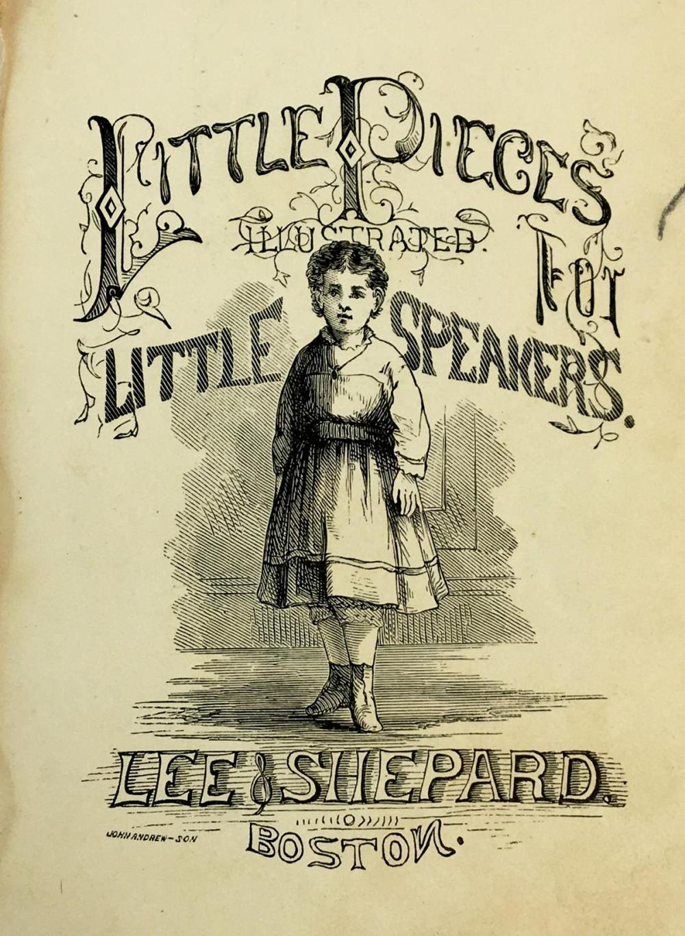 1872 Little Pieces for Little Speakers by S. M. Priest