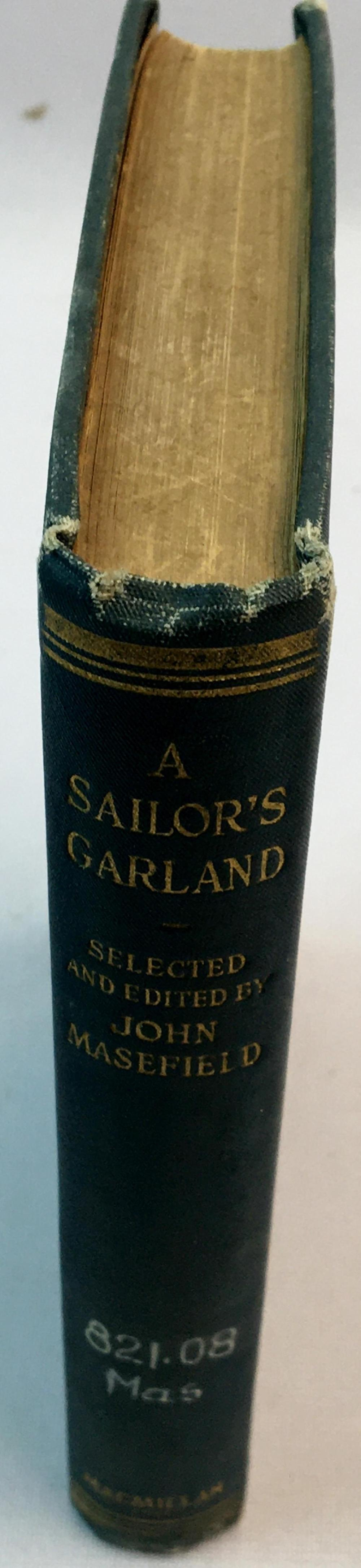 1924 A Sailor's Garland by John Masefield FIRST EDITION