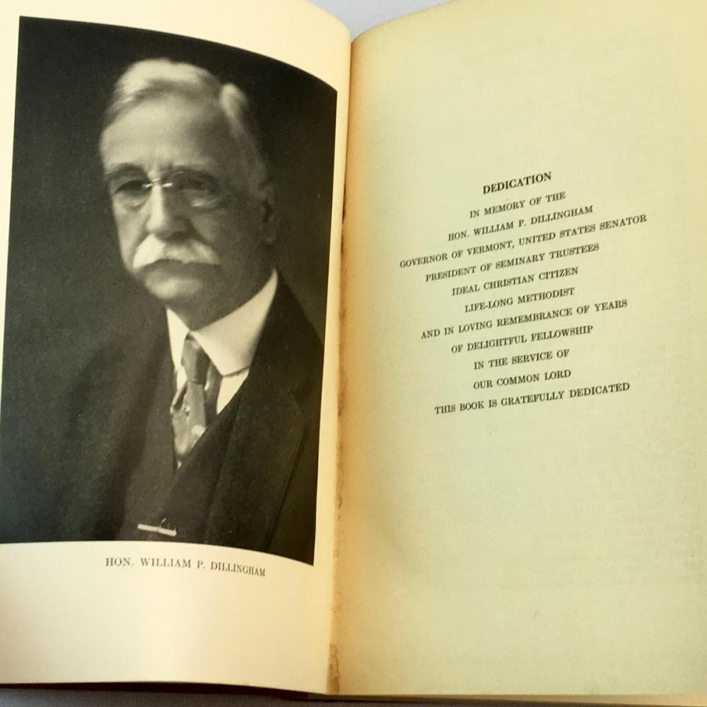 1934 Montpelier Seminary and It's Students by Walter Rice Davenport, D.D. FIRST EDITION