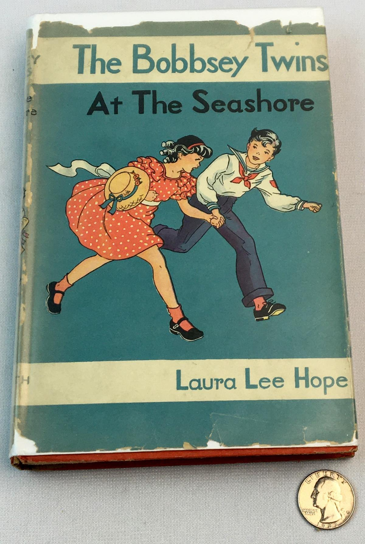 The Bobbsey Twins At The Seashore by Laura Lee Hope w/ Dust Jacket
