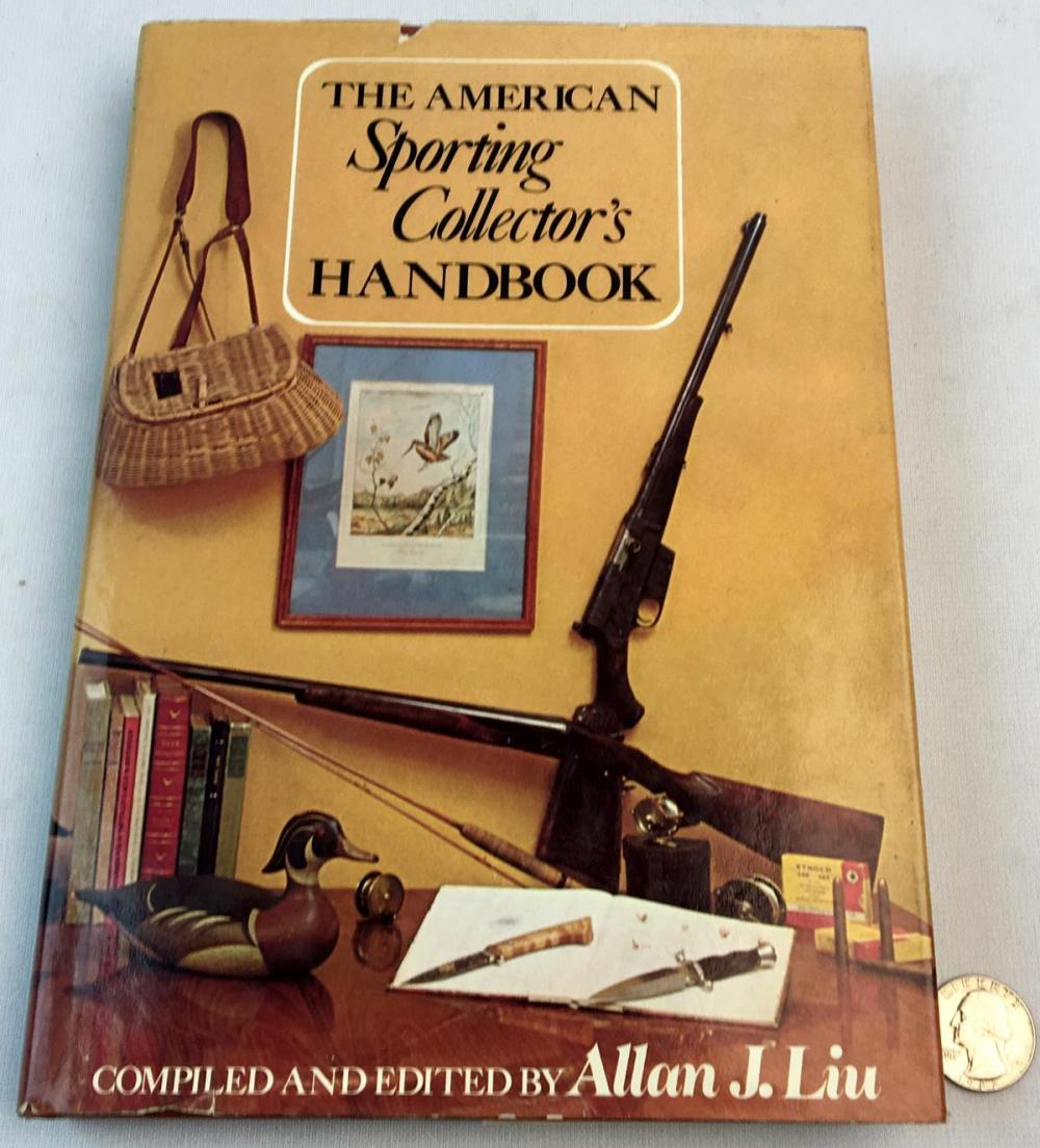 1976 The American Sporting Collector's Handbook w/ Dust Jacket FIRST EDITION