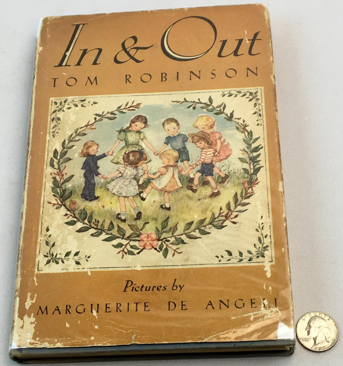 1943 In and Out by Tom Robinson w/ Dust Jacket FIRST EDITION