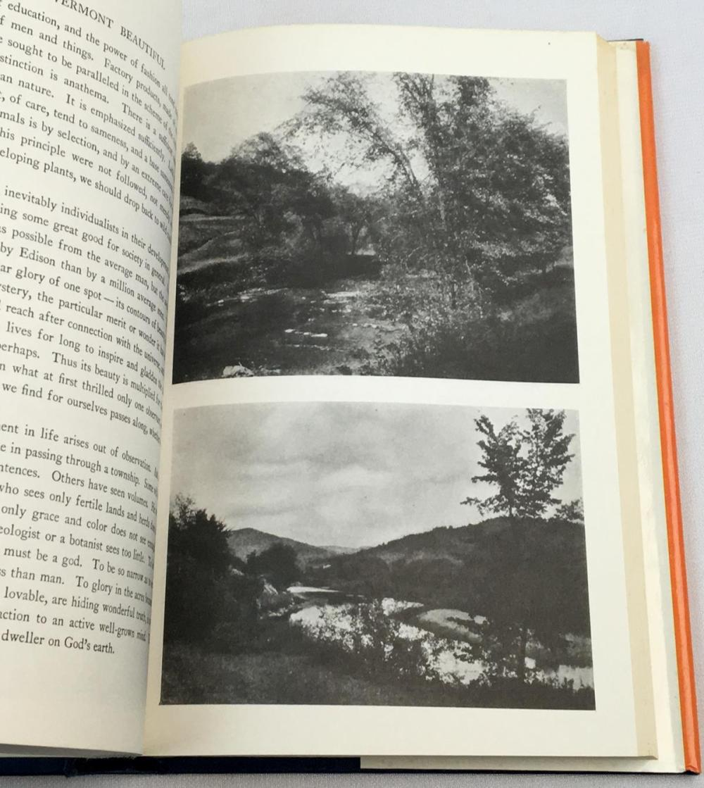 Vermont Beautiful by Wallace Nutting w/ Dust Jacket c. 1970