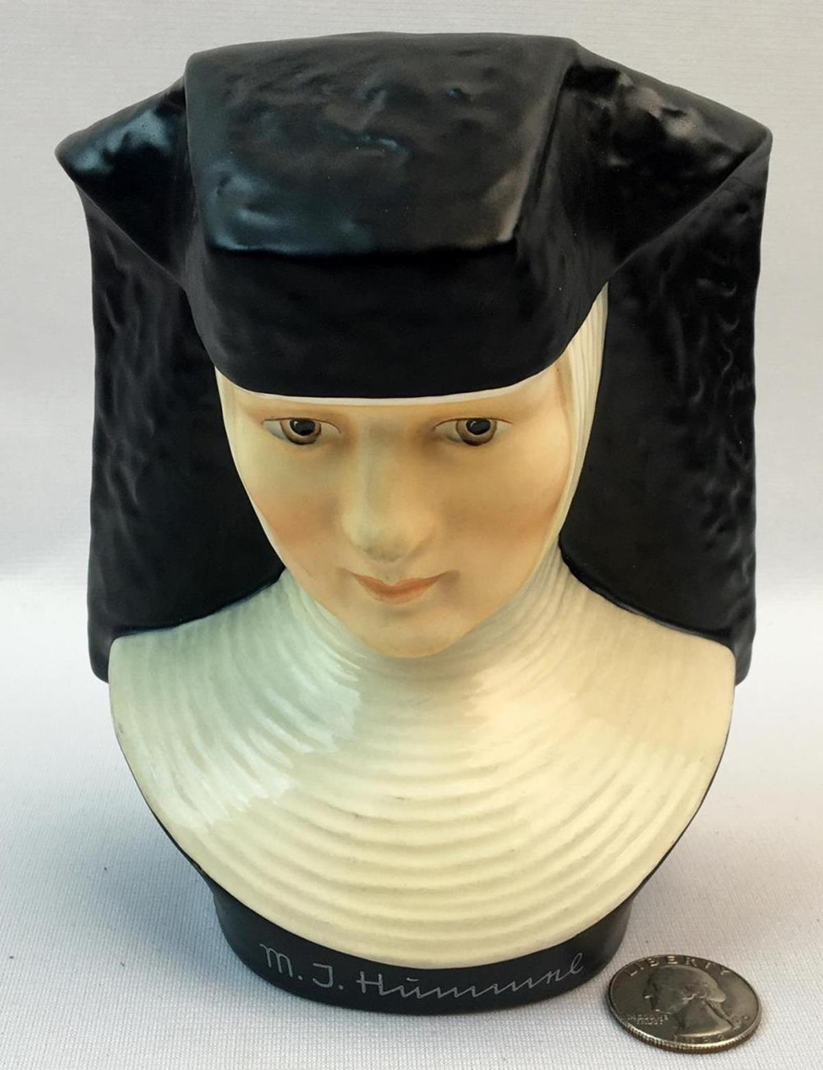 Vintage 1978 Goebel Sister Nun Berta Hummel Bust Exclusive Special Edition No. 3